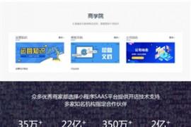 网络公司高端精品模板 自适应源码php小程序官网源码
