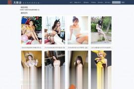 大型高清美女图片网站源码 带手机端