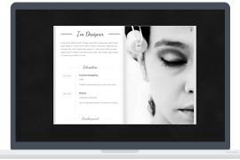 带有3D翻转书特效的WordPress图片企业主题